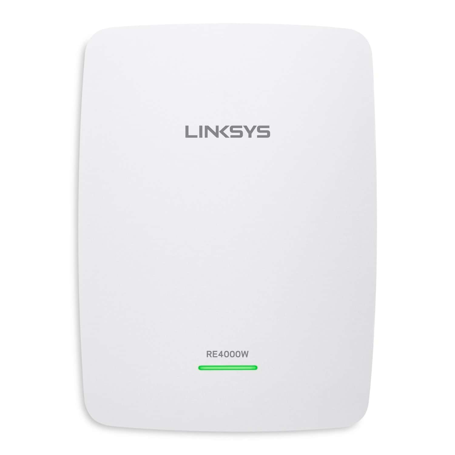 Linksys RE4000W Dual-Band Wireless-N Range Extender