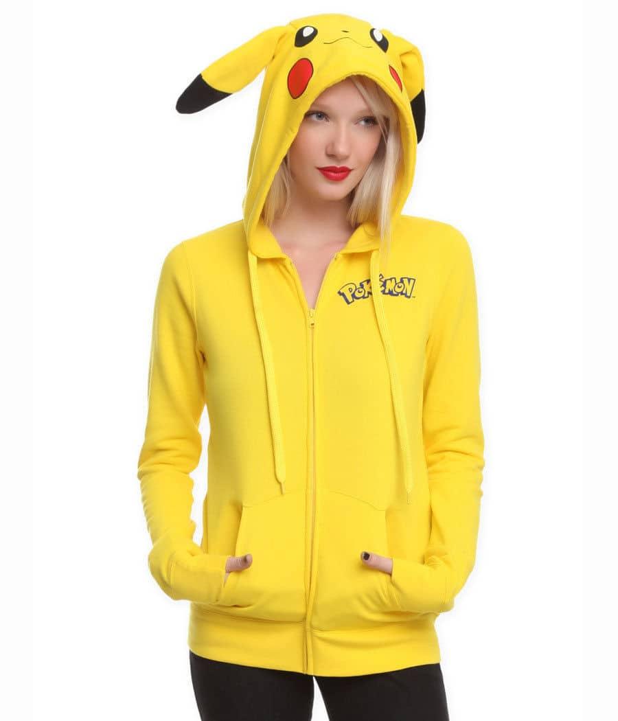 Pikachu Hooded Sweatshirt