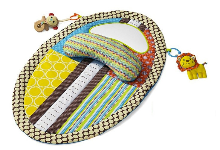 Sozzy Multifunctional Baby Tummy Time Play Mat Educational &...