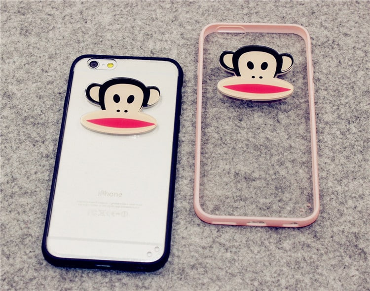 iPhone 5 5s SE Paul Frank Clear Protective Case