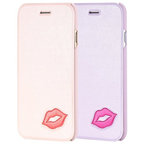Sweet Kiss Flip Pastel Case for iPhone 6 6s Plus