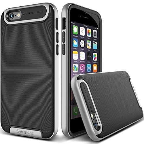 Verus Satin Silver iPhone 6 6s Case Crucial Bumper Series