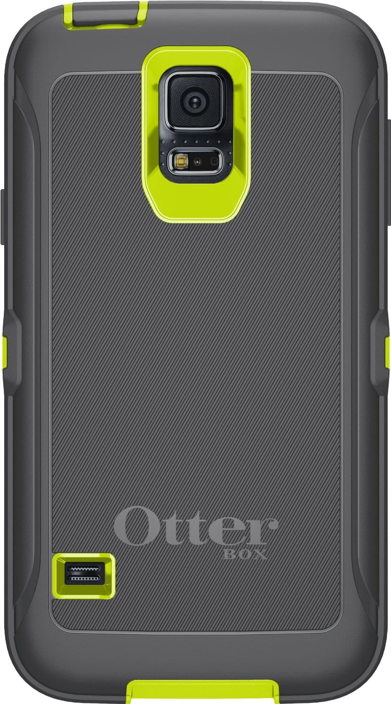 Citron Kick OtterBox Samsung Galaxy S5 Defender Series Case
