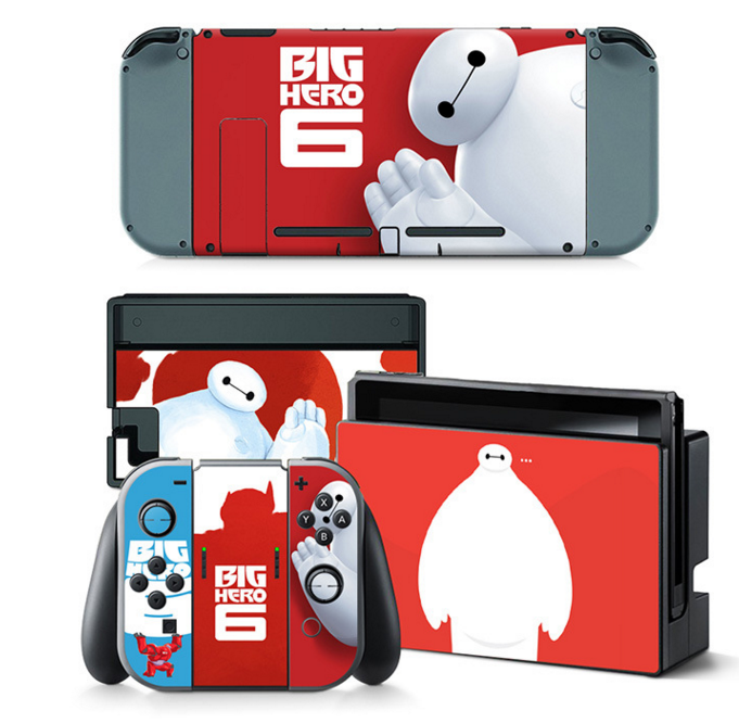 Big Hero Decal Set for Nintendo Switch