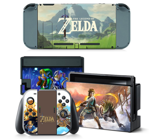 The Legend Of Zelda Decal Set for Nintendo Switch