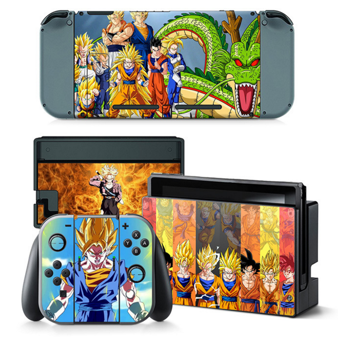 Naruto Decal Set for Nintendo Switch