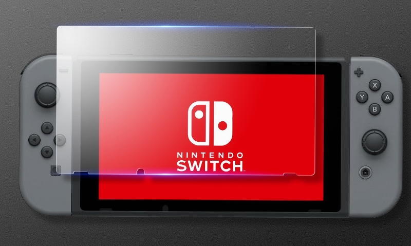 Tempered Glass Protector for Nintendo Switch