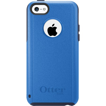 iPhone 5C Otterbox Commuter Series Case Admiral Blue Ocean Blue Surf