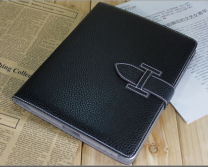 High Fashion Designer Inspiried H Leather Smart Cover Case iPad 2...