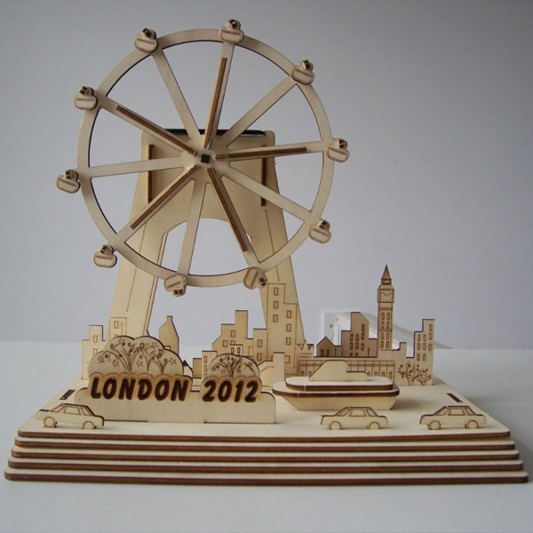 DIY Solar Kits London Eye
