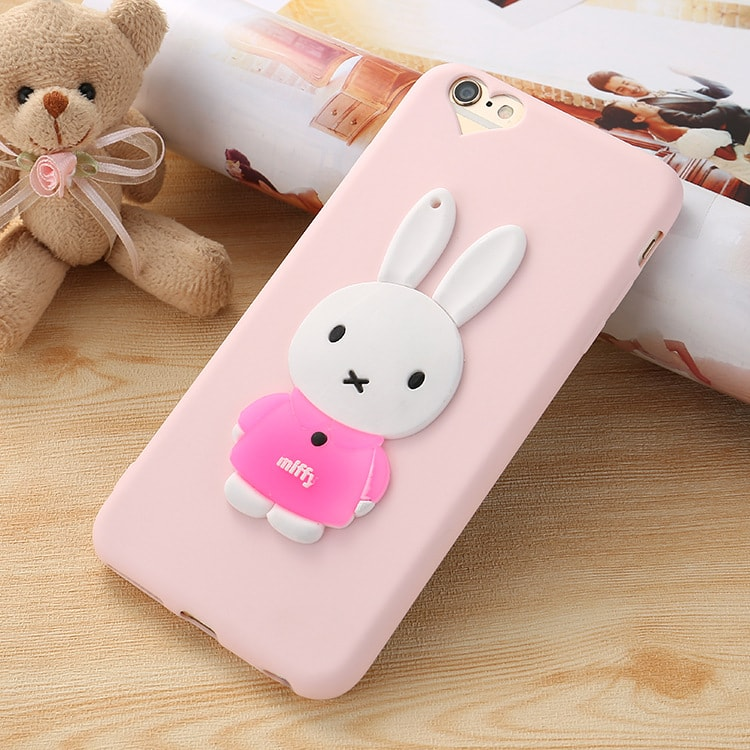 3D Miffy Rabbit iPhone 6 6s Case