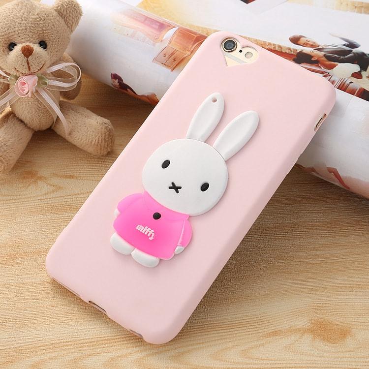 3D Miffy Rabbit iPhone 7 Plus Case