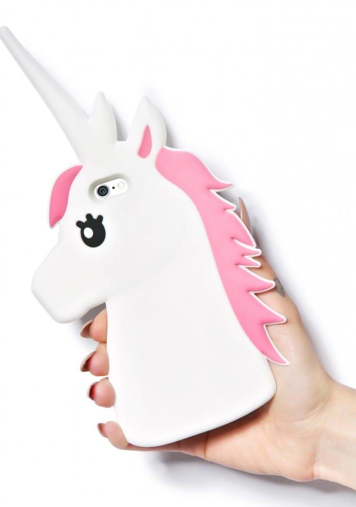 Dolls Kill 3D Unicorn Silicone iPhone 7 Plus Case