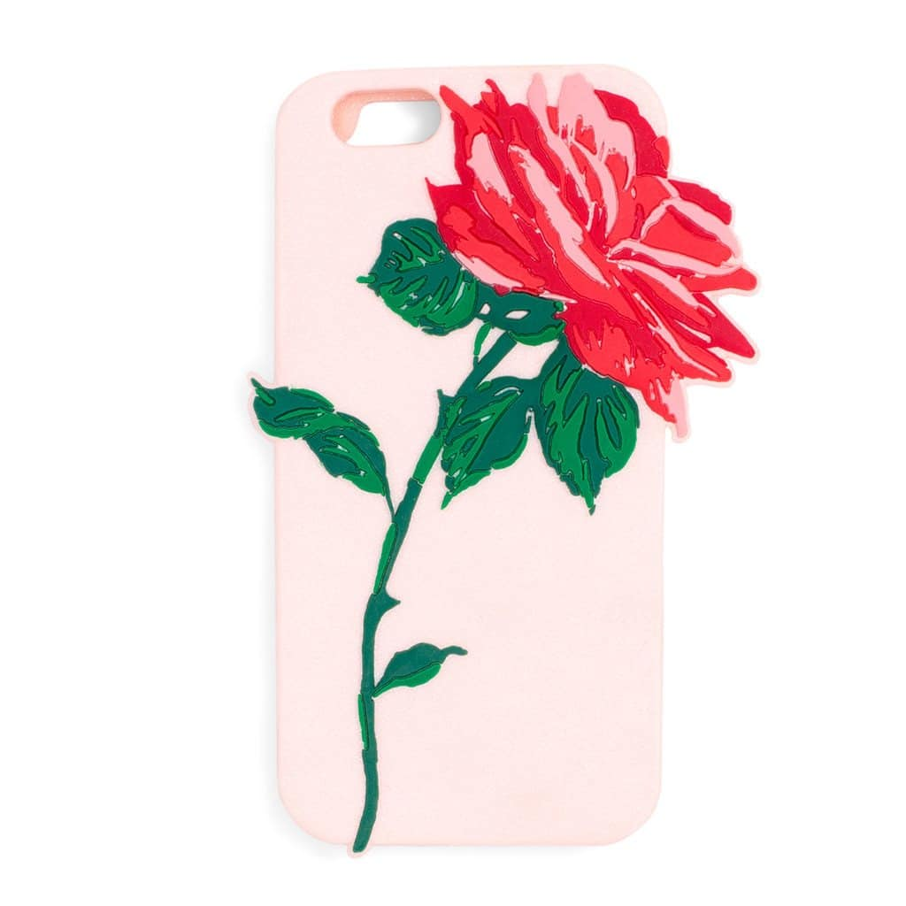 ban.do Silicone Will You Accept This Rose iPhone 7 Plus Case