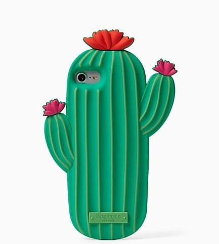 Kate Spade Silicone Cactus iPhone 7 Plus Case