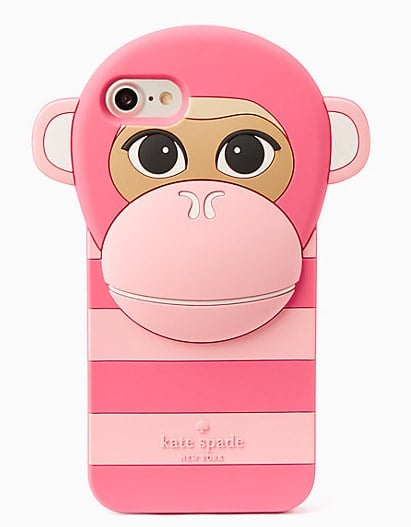 Kate Spade Silicone Monkey iPhone 7 Plus Case