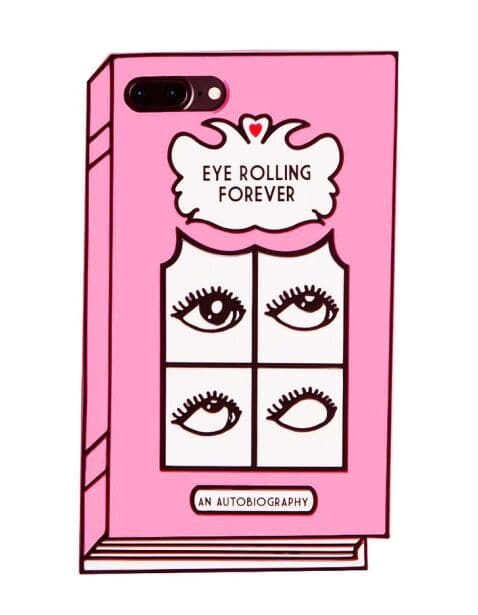 Eye Rolling Forever Silicone iPhone 7 Plus Case