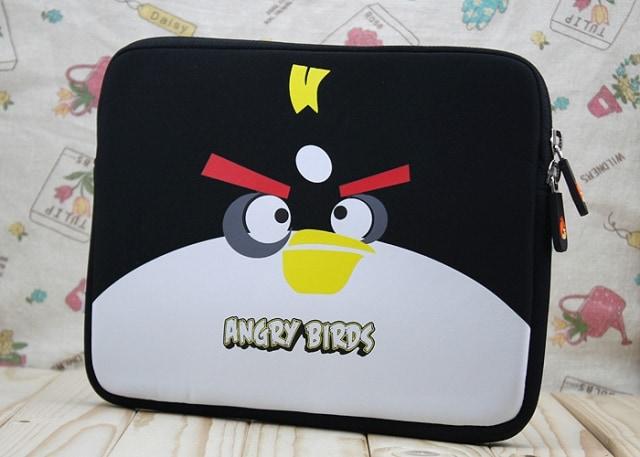 Angry Birds Black Bomber Neoprene Sleeve Carrying Case for all...