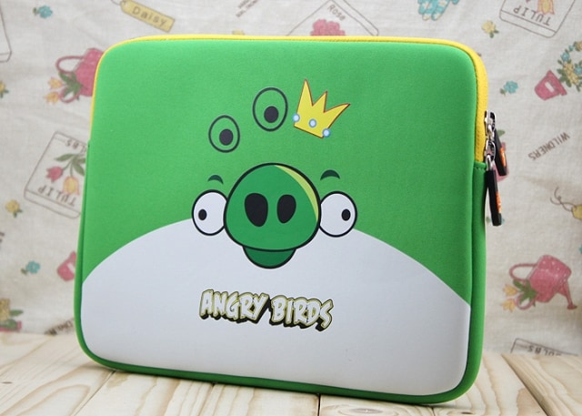 Angry Birds Pig King Neoprene Sleeve Carrying Case for all models...