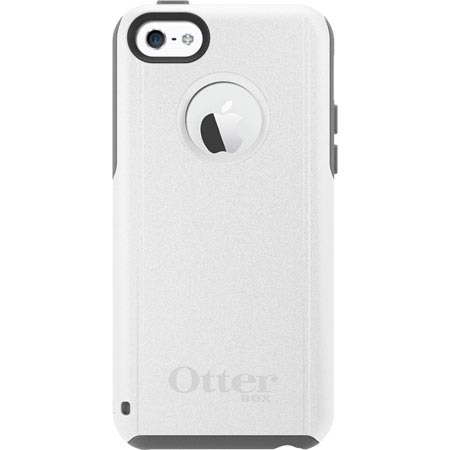 iPhone 5C Otterbox Commuter Series Case Grey White Glacier