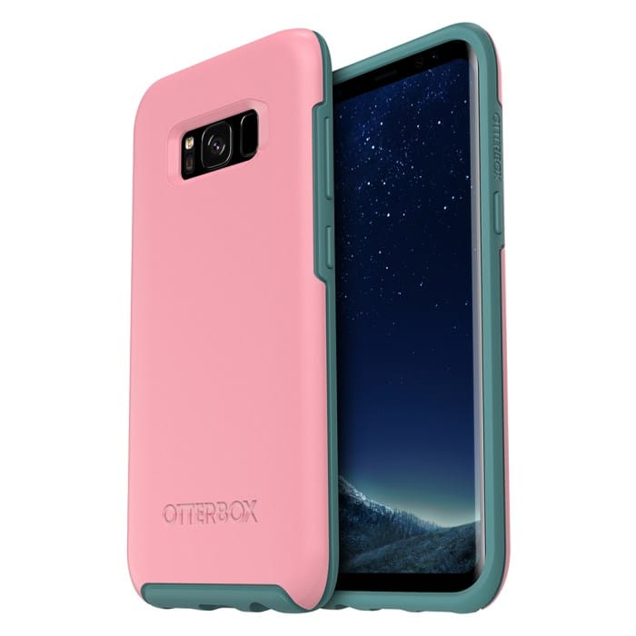 Otterbox Galaxy S8 Symmetry Series Case - Prickly Pear Pink