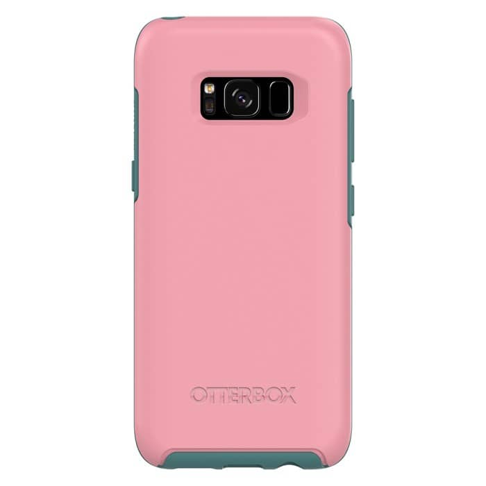 Otterbox Galaxy S8+ Plus Symmetry Series Case - Prickly Pear Pink