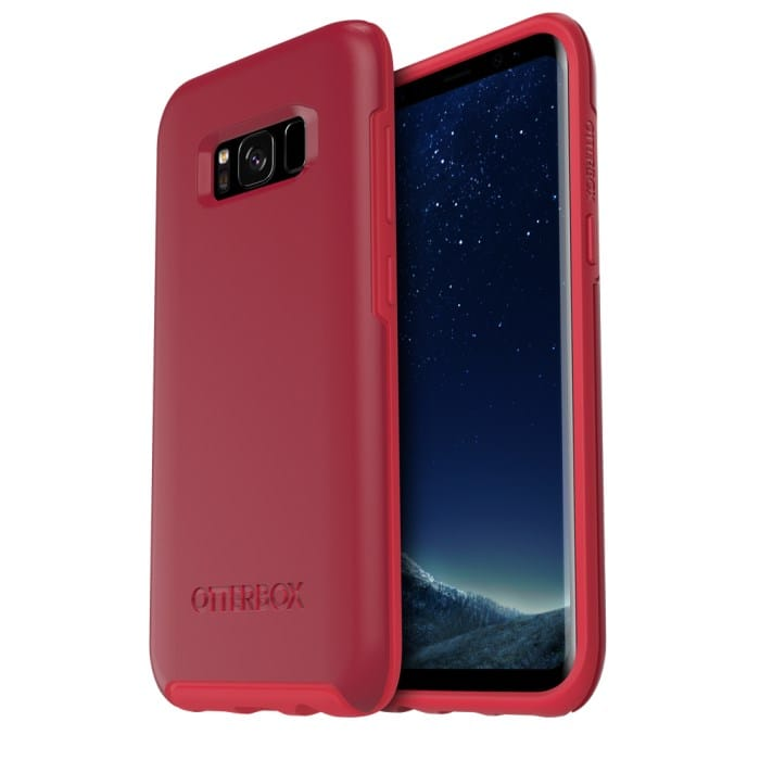 Otterbox Galaxy S8 Symmetry Series Case - Rosso Corsa Red