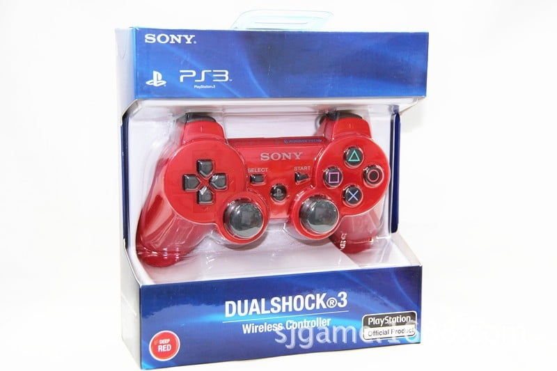 Sony PS3 DualShock 3 Wireless Controller Red