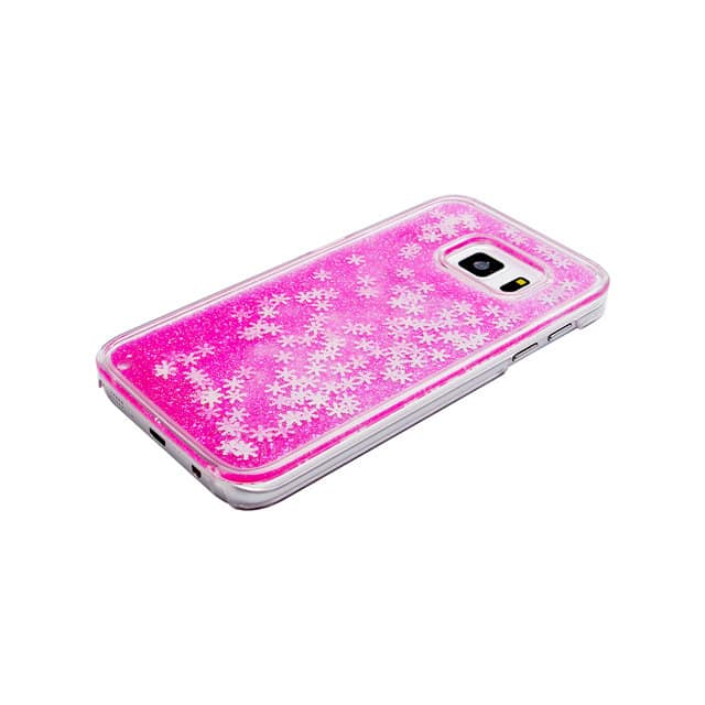 Liquid Hearts Glitter Case For Galaxy S8+ Plus