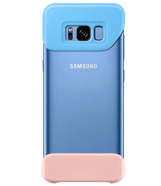 Samsung Galaxy S8+ Plus 2Piece Cover Blue/Pink
