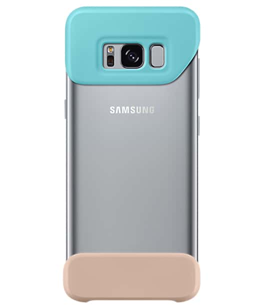 Samsung Galaxy S8 2Piece Cover Mint/Brown