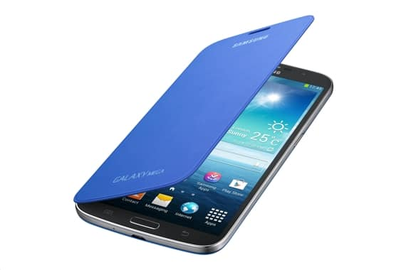 Samsung Flip Cover Case Blue for Galaxy Mega 6.3