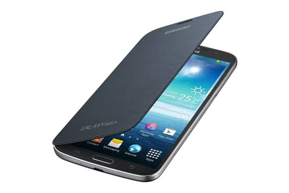 Samsung Flip Cover Case Black for Galaxy Mega 6.3