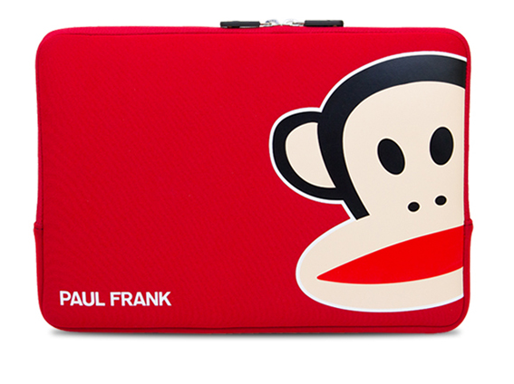 "Paul Frank Uncommon Neoprene Sleeve for Macbook Air Pro 13"" Red..."
