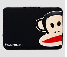 "Paul Frank Uncommon Neoprene Sleeve for Macbook Air Pro 11"" Black..."