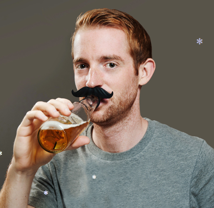 BeerMo Drink Markers Bottle Mustach Beardo Beer Mo