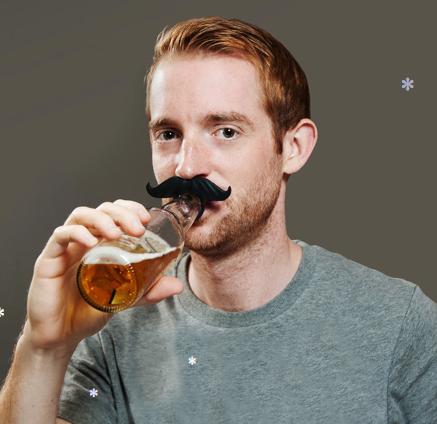 BeerMo Drink Markers Bottle Mustach Beardo Beer Mo