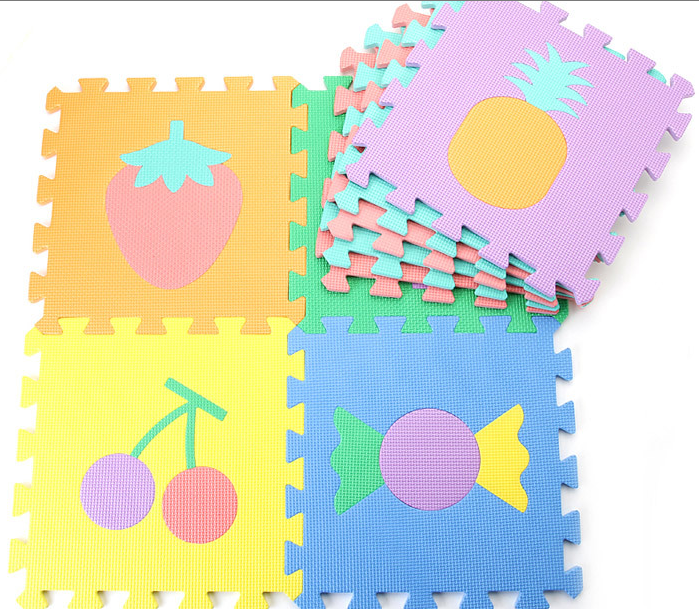 Complete Foam Cute Pop Out Puzzle Gym Mat for Baby and Kid...