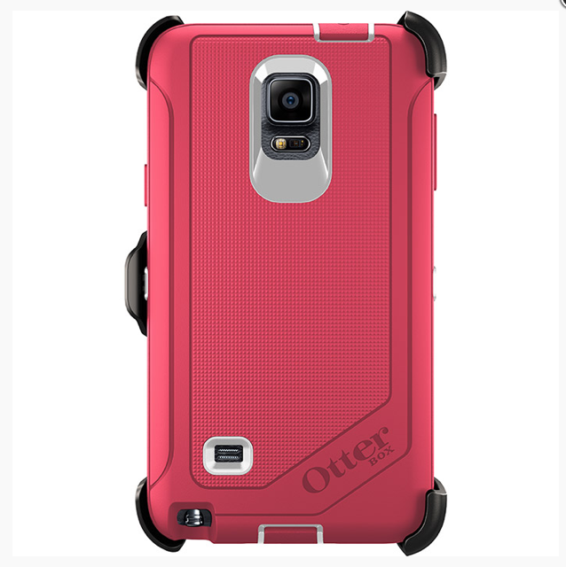 OtterBox Defender Case for Samsung Galaxy Note 4 Pink Neon Rose