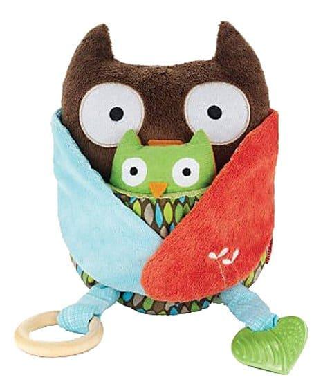 Skip Hop Hug & Hide Activity Toys-Owl