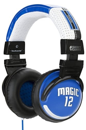 Skullcandy Hesh NBA Magic DJ Headphones - Dwight Howard
