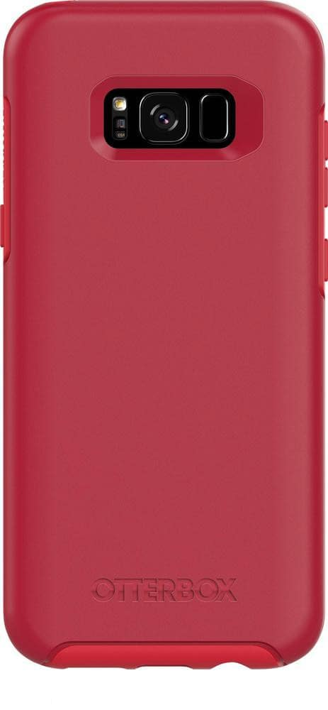 Otterbox Galaxy S8+ Plus Symmetry Series Case - Rosso Corsa Red