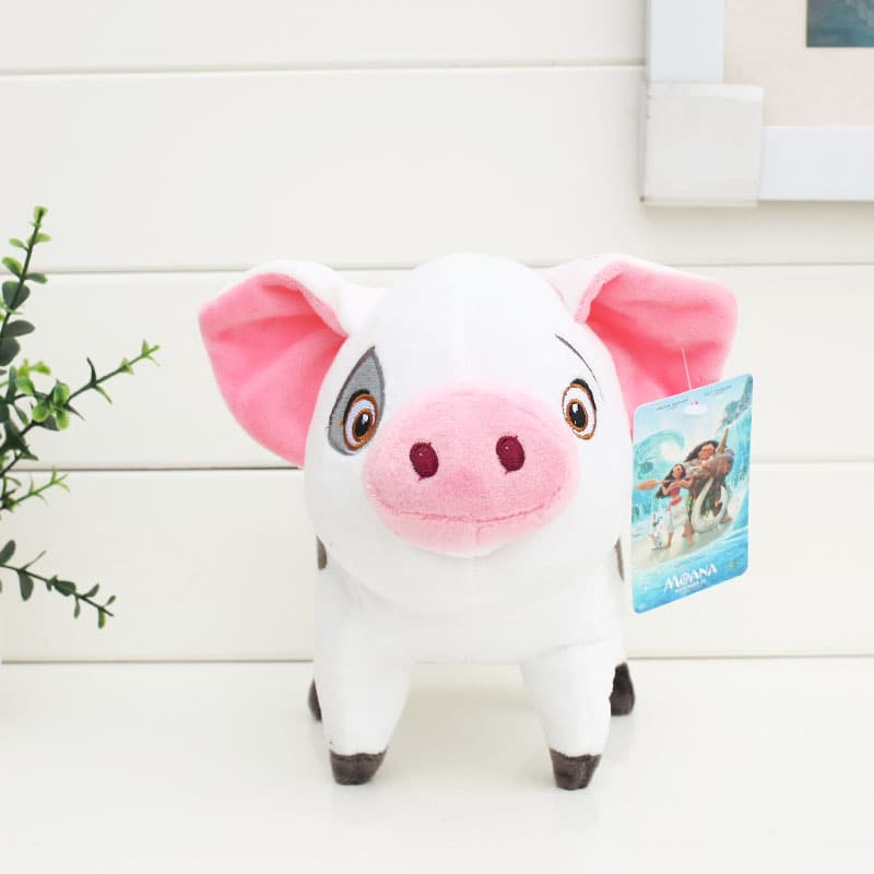 Disney Moana Pig Pua Plush Doll - 20cm / 8 inches