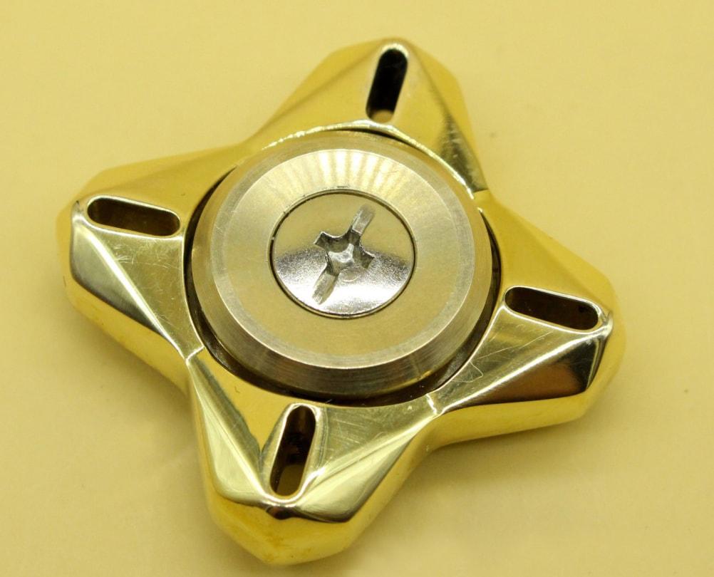 Mini Small Star CNC Fidget Spinner