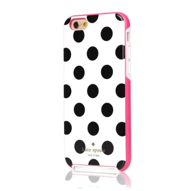 iPhone 7 Kate Spade Le Pavillion Case White Black Pink