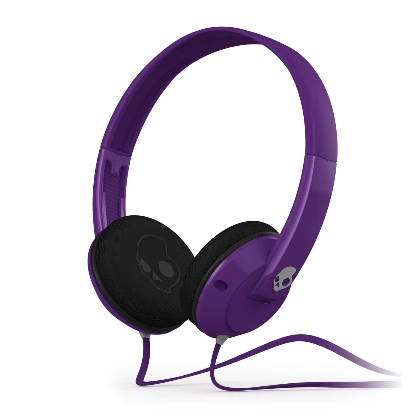 Skullcandy Uprock Athletic Purple Grey Headphones