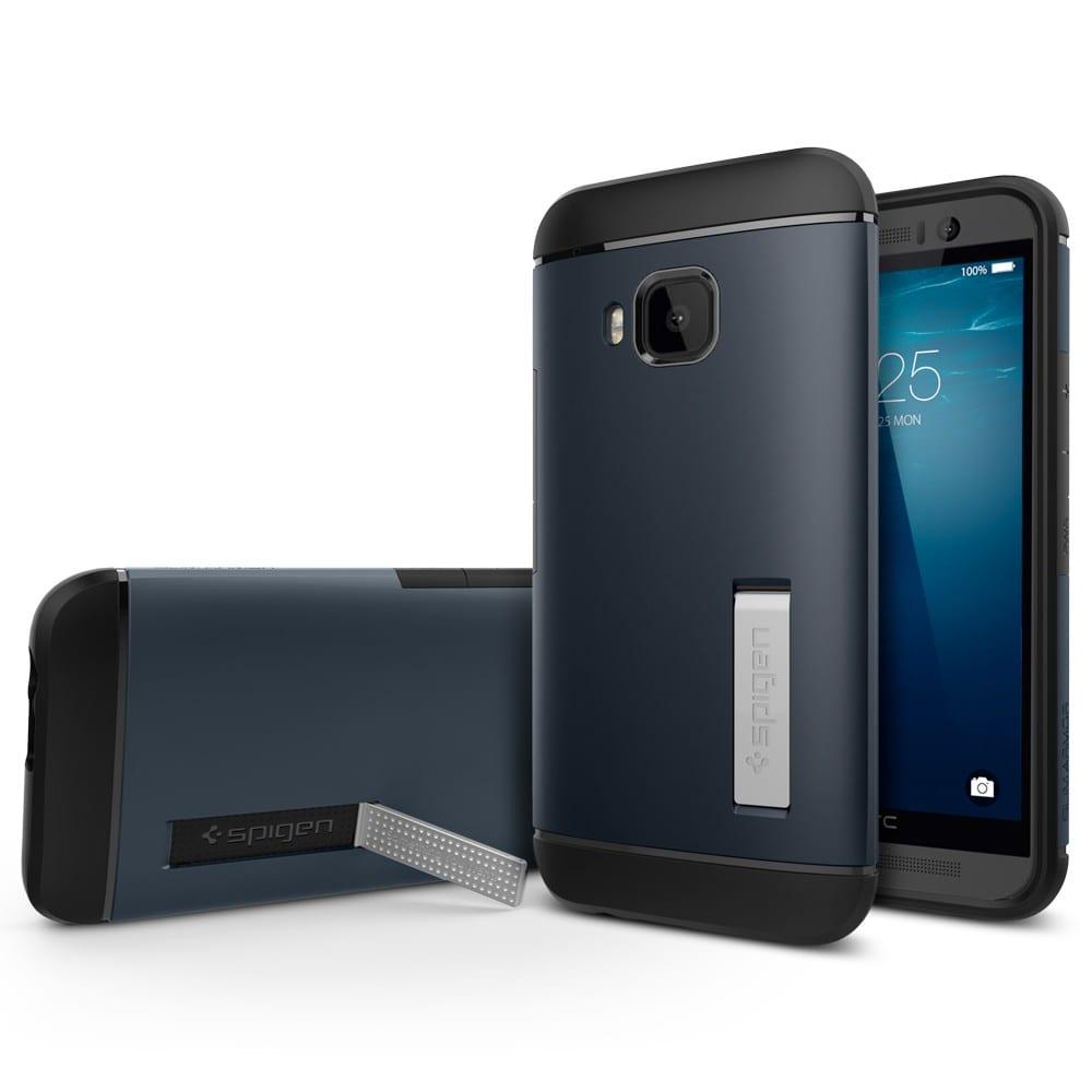 HTC One M9 Spigen Slim Armor Metal Slate Case