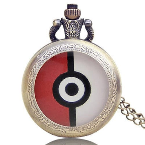 Pokemon Pockeball Pocket Watch
