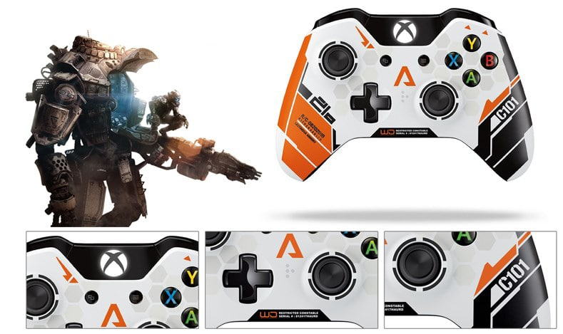 Microsoft Titanfall Limited Edition Wireless Controller for Xbox One