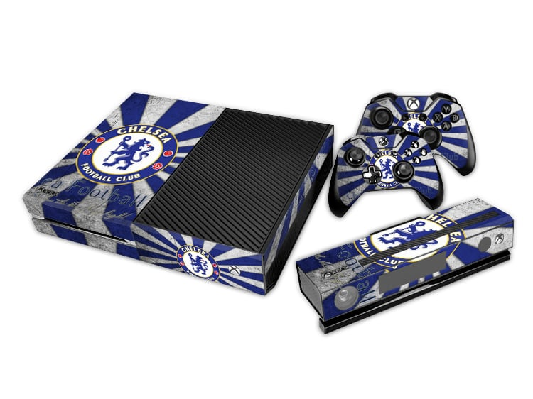 Chelsea Decal Set for Xbox One and Controller